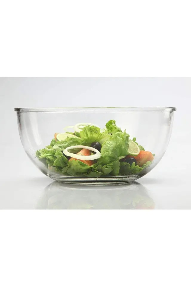 mixing bowl airtight break resistant glass food container lunch box microwave safe mixing bowl 2000 ml