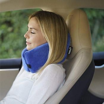 travelrest nest ultimate neck memory foam travel pillow