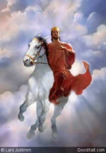 Jesus on White Horse