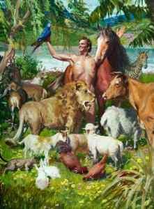Adam Naming the Animals