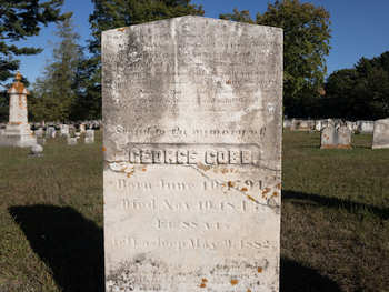 George Cobb Tombstone