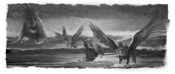 Animals in Daniel's Vision