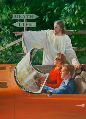 Jesus Points Out the Way to Life