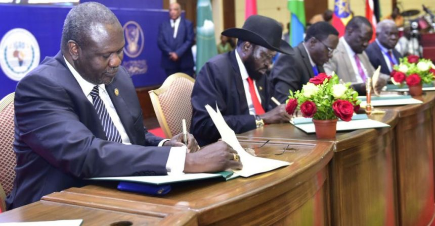 Six School of thoughts undertaking about the Formation of the Revitalized Transitional Government of National Unity (RTGoNU), in May 12th, 2019: South Sudan