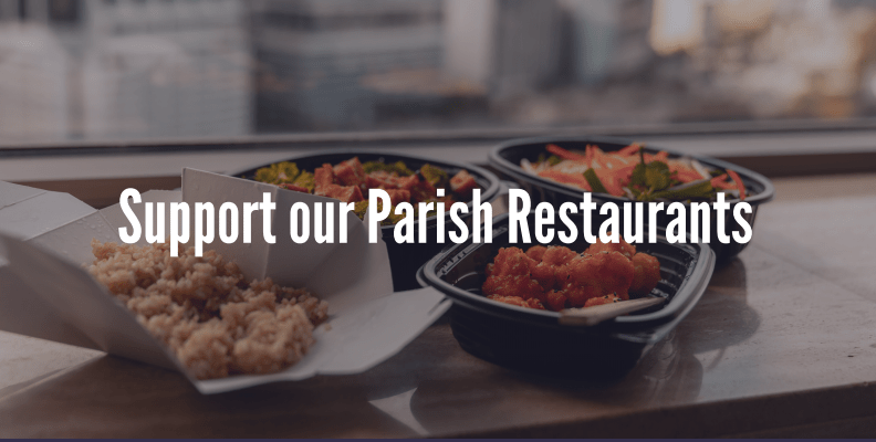Help Support Our Parish Restaurants