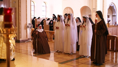 Franciscan Professions At The Convent Of Christ The King