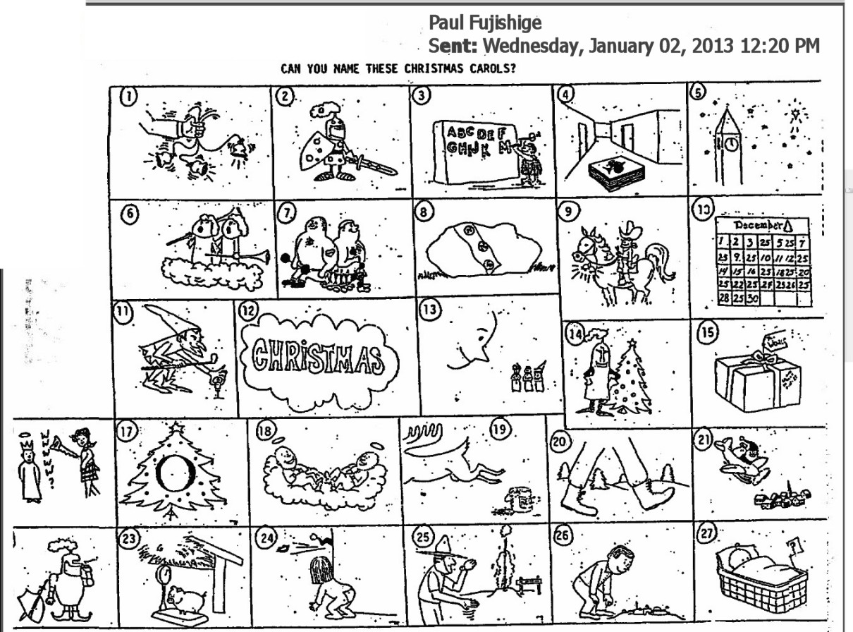 Christmas Cryptogram Worksheet