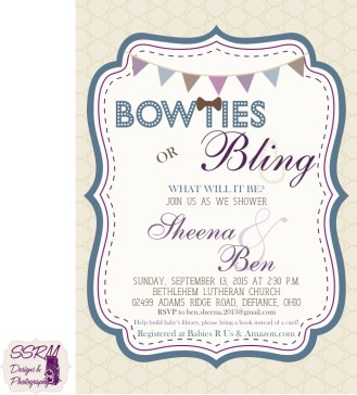 S&B Baby Shower Invite