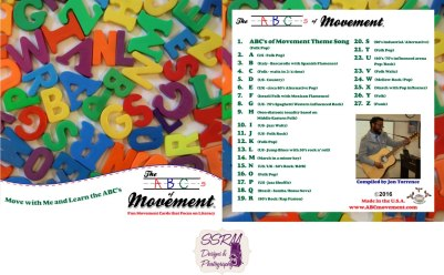 The ABC's Of Movement Music CD
