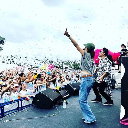 今日はバブルラン仙台公演!LGYankees、Noa、大山愛未DJ miyake(mihimaruGT)DJ 剛田來未の皆さんに出演してもらい会場を最高潮に盛り上げてもらいました!みんな大切な音楽仲間です。こんなイベントアーティストブッキングもやっております。#LGYankees#Noa#大山愛未#SDN48#miyake#mihimaruGT#バブルラン#ファンランイベント#仙台#宮城総合運動公園#パリピ