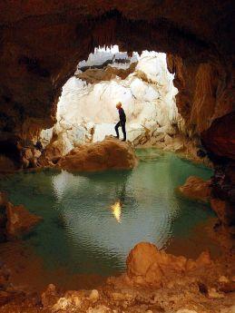 stefanova jaskyna. Vypomoc Pavel Herich