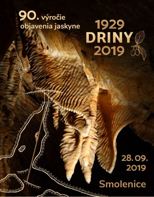 výročie, 90. výročie objavenia jaskyne Driny, Slovenská speleologická spoločnosť