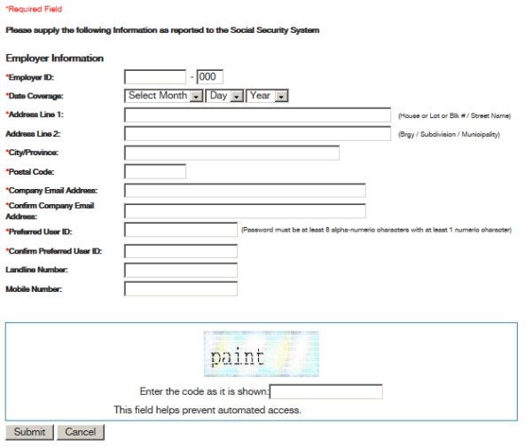 SSS-Online-Registration-Form-company-employer