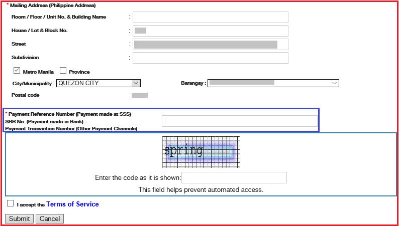 Gov Online Sss Ph Registration