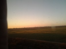 Dawn, Day 2, somewhere in western Kansas.