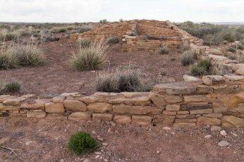 Ruins of Puerco Pueblo.