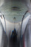 The fresnel lens in the lantern room.