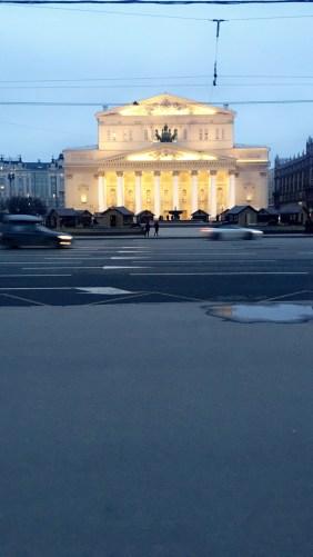 Bolshoi ballet theater