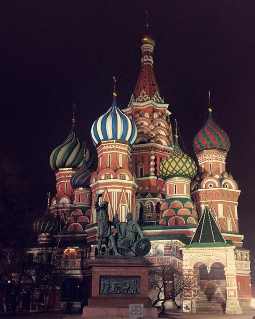 St. Basil's Cathedral!!