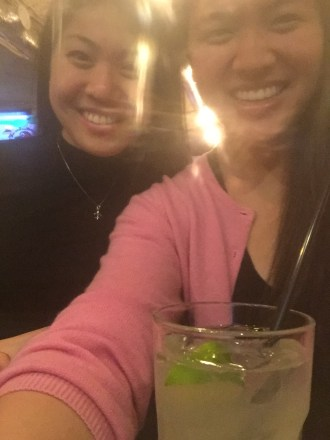 Me & Lydia (+ my Moscow Mule!)