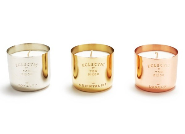 Tom Dixon Scented candle set of three