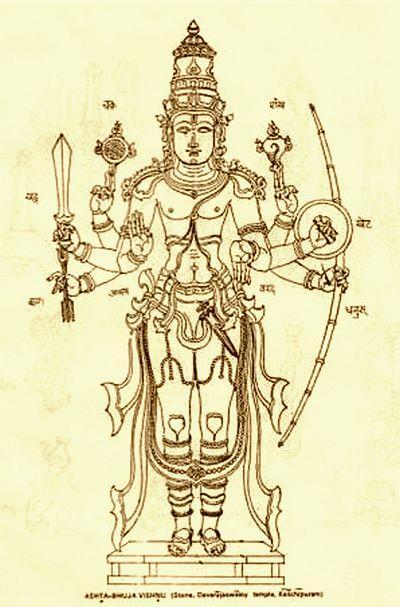 Vishnu prima parte Asta-bhuja%20Vishnu%20sepiua