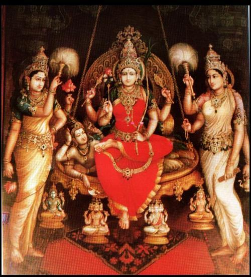 Sri Rajarajeshwari by Shilpi Sri Siddalaing aSwamy