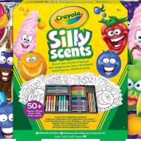 This Crayola Silly Scents Mini Art Kit Refresh Kit contains scented Crayola tools you'll need to create amazing art which also smells very nice!