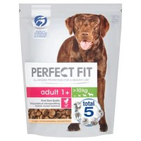 Perfect Fit Adult 1+ Chicken Flavour Complete Dry Dog Food 825g