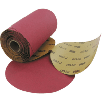 The 150mm 3M Stikit Abrasive Disc 310U are general purpose Aluminium Oxide abrasive discs comprising C weight paper backed by Stikit backings.