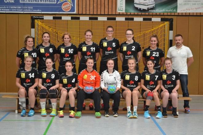 SSV95 Wissen - Damen - Saison 2016/17