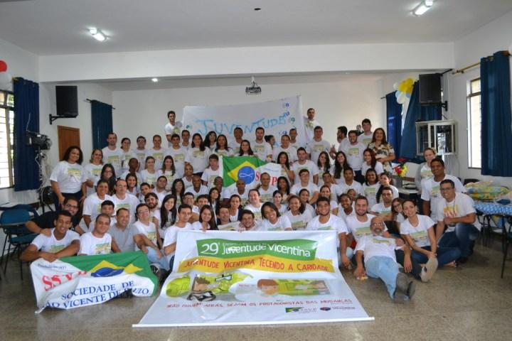 Foto oficial do 29º Encontro Nacional da Juventude