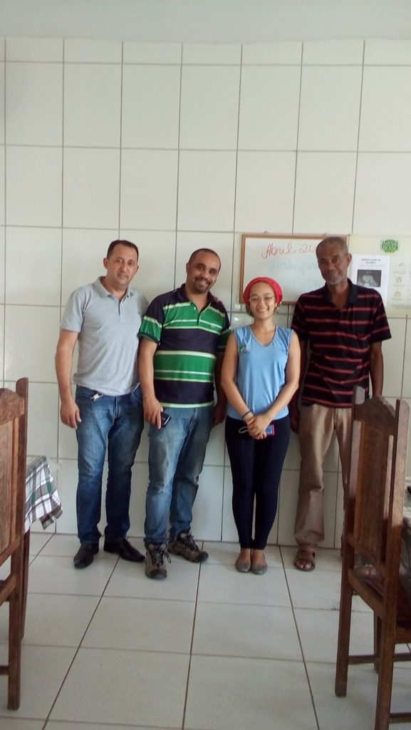 Visita ao CC São Mateus