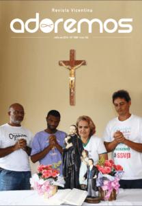 A revista da família vicentina.