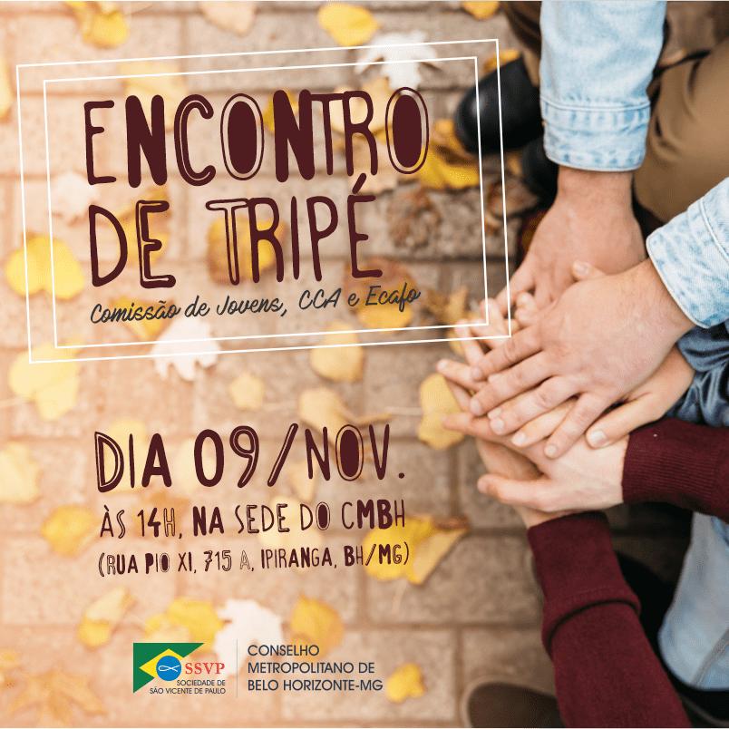 Encontro de Tripé da Sociedade de São Vicente de Paulo - Ecafo CCA E CJ