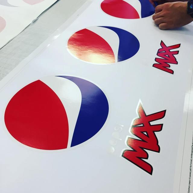 Pepsi championsleague official sponsor graphics vinyl