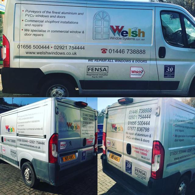 Van done this morning