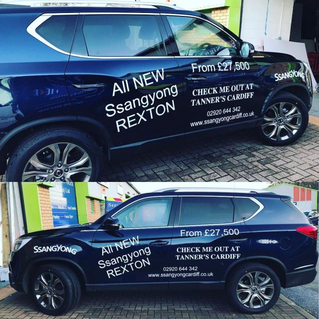 All new SsangYong Rexton available at Tanners Cardiff