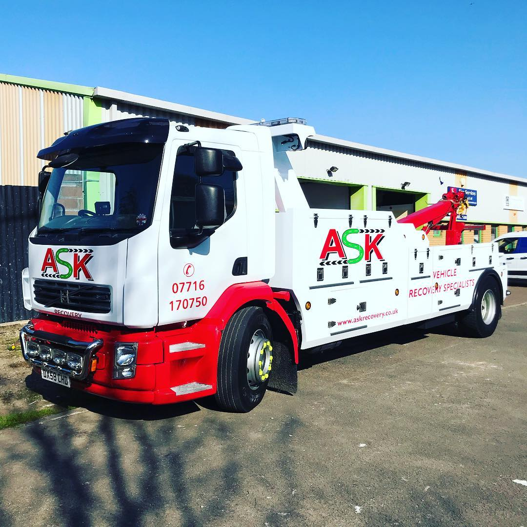 Another recovery truck complete for @askrecoveryltd