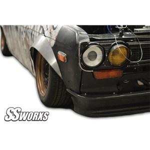 SSworxs Datsun 510 Metal fender flares Type 1