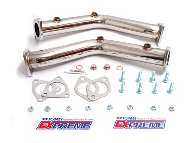 Tomei EXPREME Straight Front Pipe Piping Nissan 350Z - SSWORXS