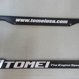 Tomei Powered License Plate