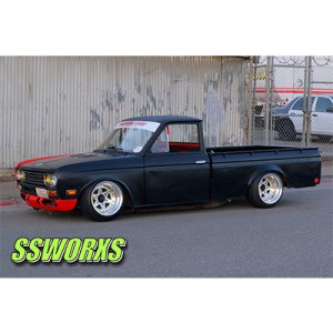Datsun 521 Rear Fender Flares