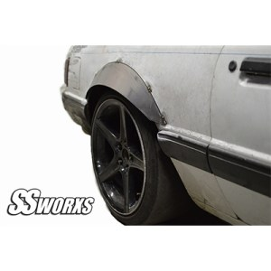 Ford Mustang 79-93 Models REAR Fender Flares