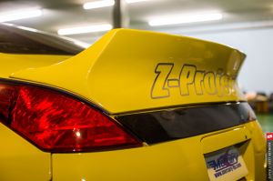 Mercury Z Project GT3 Rear Spoiler Wing z33 350z