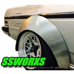 SSworxs BOSO #1 Metal Fender Flares