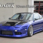 180sx fender flares 50mm flares a