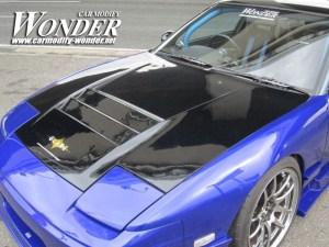 Car Modify Wonder 240sx Glare 3 lotus Vent Hood