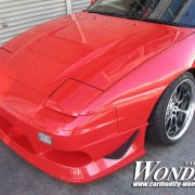 Car Modify Wonder 180sx Glare Hood 3 Lotus vent 5