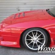 Car Modify Wonder 180sx Glare Hood 3 Lotus vent 7